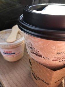 ハワイ島 UCCコーヒー焙煎体験 コーヒーアイス