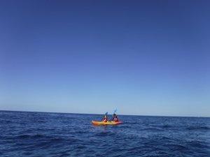 ハワイ島 シーカヤック体験 洞窟探検 シュノーケリング