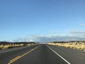 ハワイ島 ワイコロアへドライブ