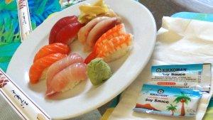ハワイ島旅行記 ハワイ島のレストラン カイルアコナ 鮨 しまいち