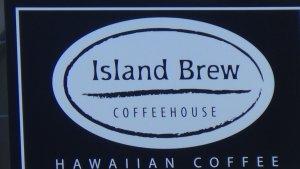 オアフ島 アラモアナセンター Island brew coffeehouse 美味しいコーヒー