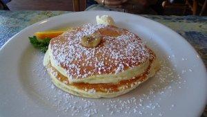 ハワイ旅行記 オアフ島カイルア moke's パンケーキ 美味しい