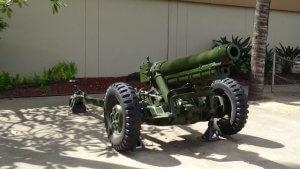 ハワイ旅行記 US.ARMY MUSEUM OF HAWAII 大砲