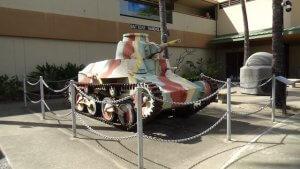 ハワイ旅行記 US.ARMY MUSEUM OF HAWAII 戦車 大砲