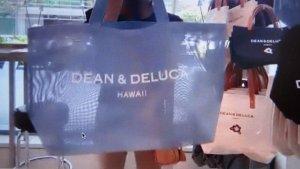 DEAN&DELUCA メッシュタイプのトートバック
